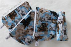 monedero coin purse dogs perros