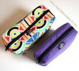 neceseres handmade pouch