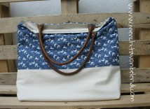 Asas reutilizadas de bolso antiguo - Reused straps from a bag that I had
