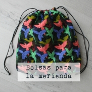 Bolsas para la merienda handmade