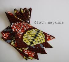 cloth napkins zero waste merchita von belendi