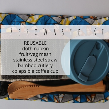 _ Zero Waste TRAVEL Kit reusable