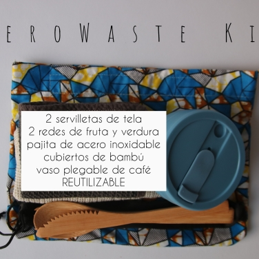 Zero Waste TRAVEL Kit reusable esp